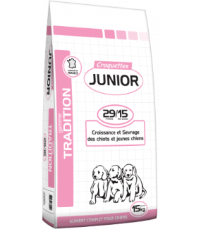 Croquettes CHIOTS naturelles JUNIOR
