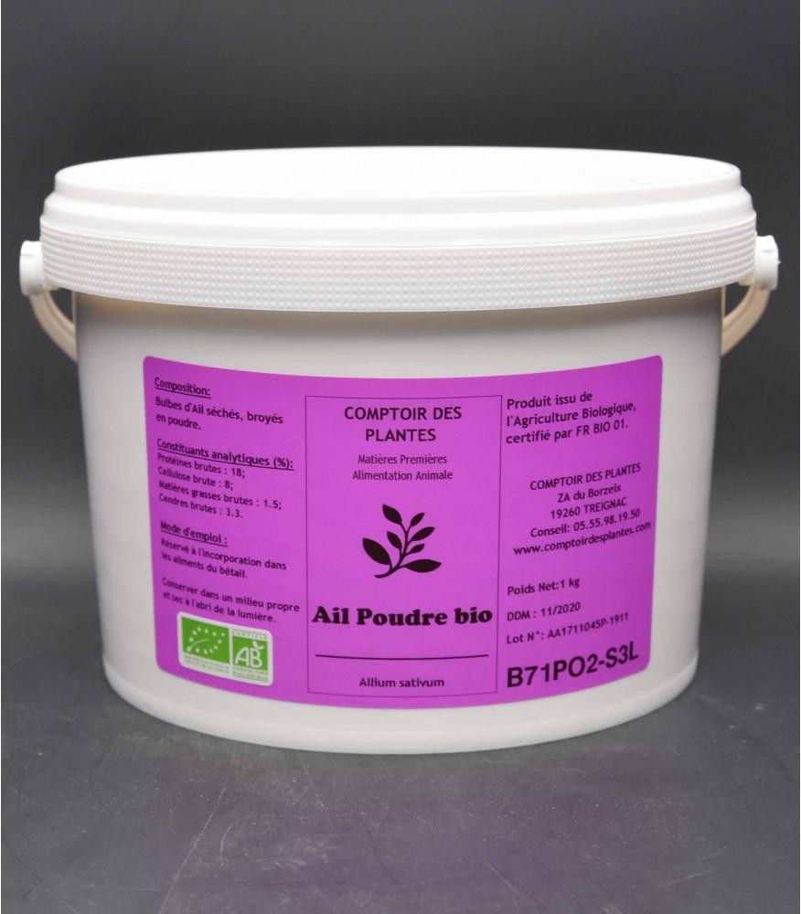 poudre ail biologique