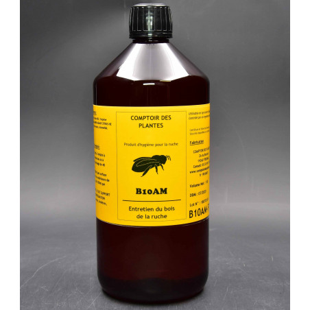 entretien ruche - varroas - abeille - agriculture biologique