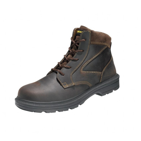 Boots securite cuir Forest marron